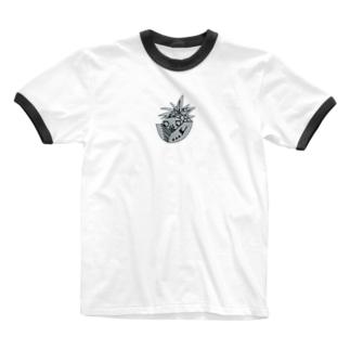 パーボーイ Ringer T-shirts