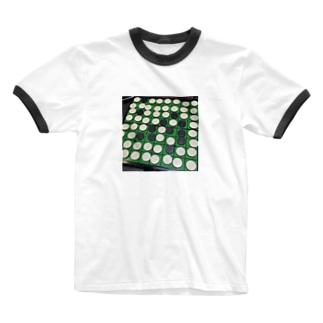 白圧勝 Ringer T-shirts