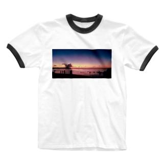 GUAM Ringer T-shirts