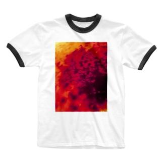 カスミソウの影 Ringer T-shirts