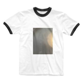 光の輪 Ringer T-shirts
