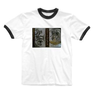 レトロTOKIO 純喫茶トレビアン Ringer T-shirts