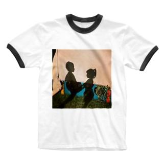 childhood friend Ringer T-shirts