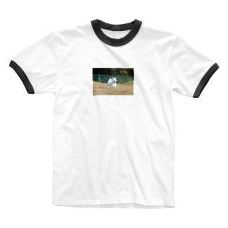 みるくさん。 Ringer T-shirts