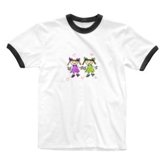 twins Ringer T-shirts