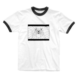 うさぎのY!! Ringer T-shirts