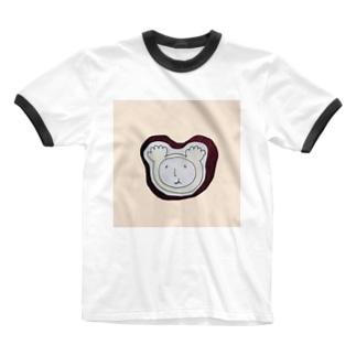 ニヤリSUN Ringer T-shirts