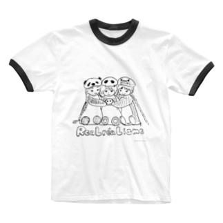 リアルレアリズム宣言 Ringer T-shirts