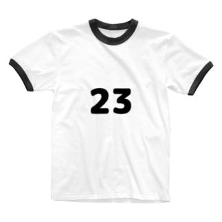 メタ構文変数(黒) Ringer T-shirts