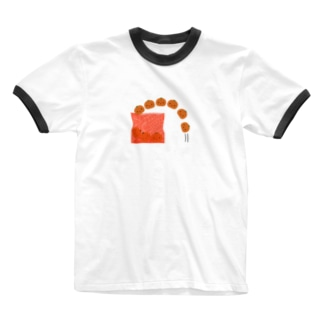 みかんの出荷 Ringer T-shirts