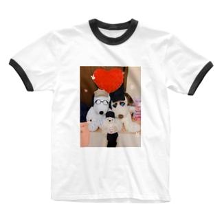 トイストーリーの世界信じてます Ringer T-shirts