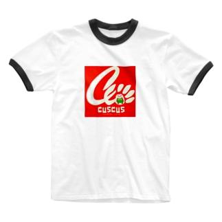 クスクスパンダ Ringer T-shirts