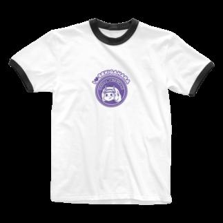 関ヶ原七武将❤️I LOVE Sekigaharaの石田みつなりくん Ringer T-shirts