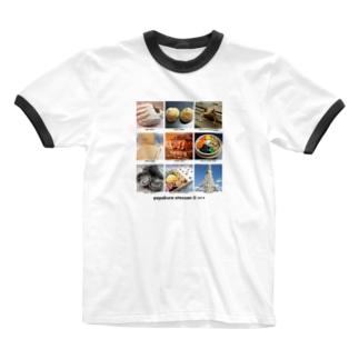©pepakura otousan Ringer T-shirts