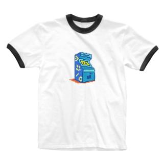 コンテニュー Ringer T-shirts