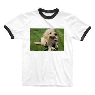 にこりちゃん Ringer T-shirts