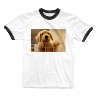 ニコニコにこり Ringer T-shirts