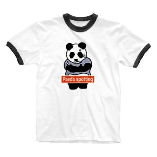 パンダスポッティング 2019年真冬モデル Ringer T-shirts
