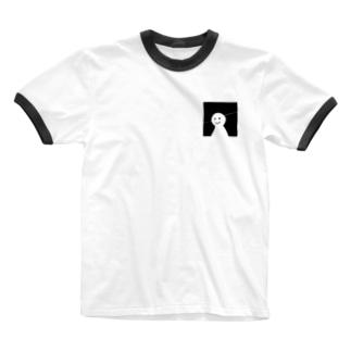ひらめいた? Ringer T-shirts