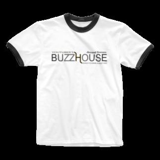 TOPSTAGEshopのBUZZ HOUSE 2nd Ringer T-shirts