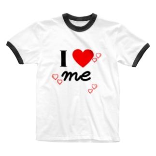 私が1番! Ringer T-shirts