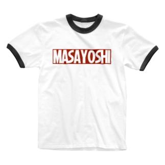 まさよしグッズ Ringer T-shirts
