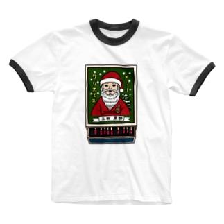 すとろべりーガムFactoryのクリスマス限定マッチ箱 Ringer T-shirts