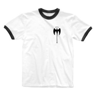 """""""Berserker"""" バーサーカー_White Ringer T-shirts"""