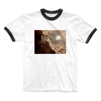 暖かい世界 Ringer T-shirts