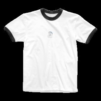 #かわいい鉱物のワッカドット Ringer T-shirts