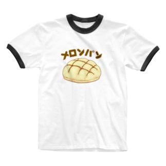 メロンパン Ringer T-shirts
