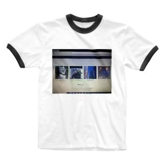 福田祐斗@ゴジュアル特撮傷年ロックオンライン限定グッズ Ringer T-shirts