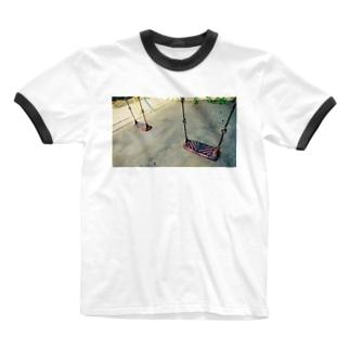 帰れないあの日 Ringer T-shirts