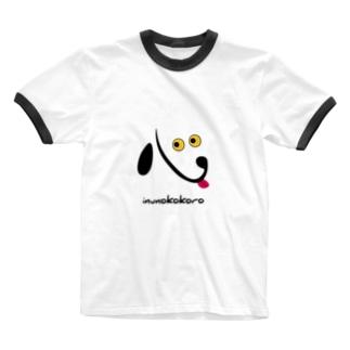 イヌのココロ Ringer T-shirts