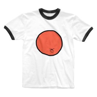 スーパーアンマン オレンジ Ringer T-shirts