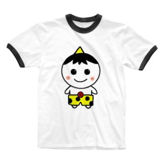 つのっきー Ringer T-shirts