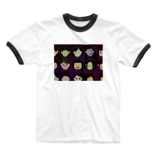 hysteric school girls Ringer T-shirts
