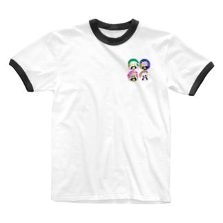 ハイター班体操着(上) Ringer T-shirts