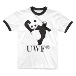 UWFパンダTシャツ Ringer T-shirts