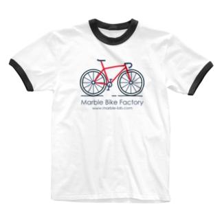 Marble Bike Factory Ringer T-shirts