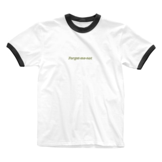 Forget-me-not(green) Ringer T-shirts