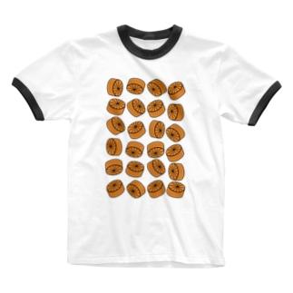 おでん・大根 Ringer T-shirts