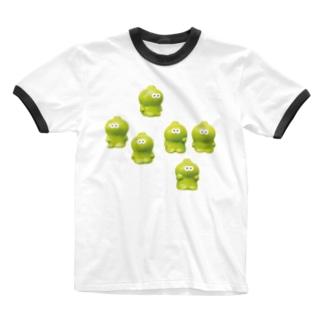 3106号室のうろうろベビィミトロ Ringer T-shirts