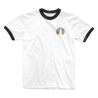アヒルちゃん Ringer T-shirts