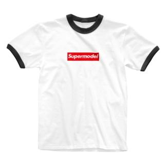 Supermodel ( スーパーモデル )  Supreme風  Ringer T-shirts