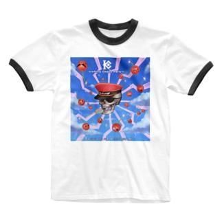 インフィニティチエリー党プロバガンダ Ringer T-shirts