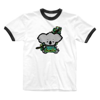 オーストラリアを救おう Ringer T-shirts