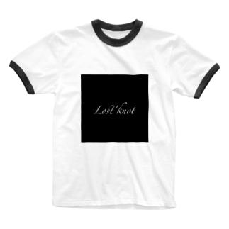 結び目どこいったと? Ringer T-shirts