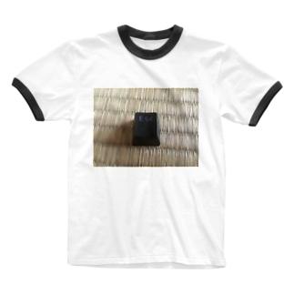 Escキー Ringer T-shirts