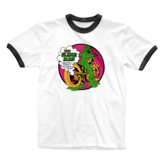 THE SLIME MAN Ringer T-shirts